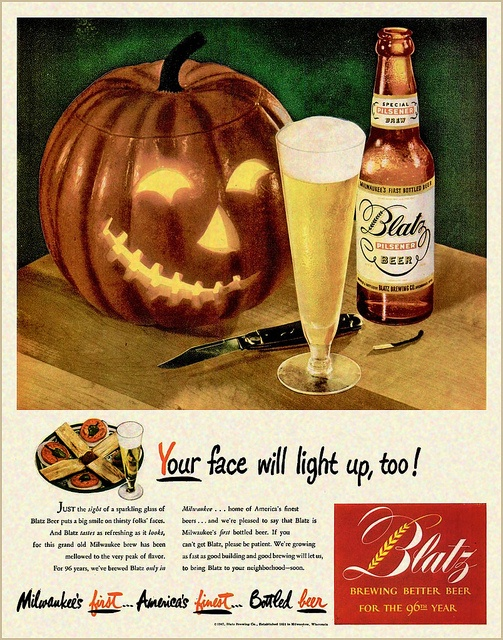 vintage_retro_halloween_ad_blatz_beer
