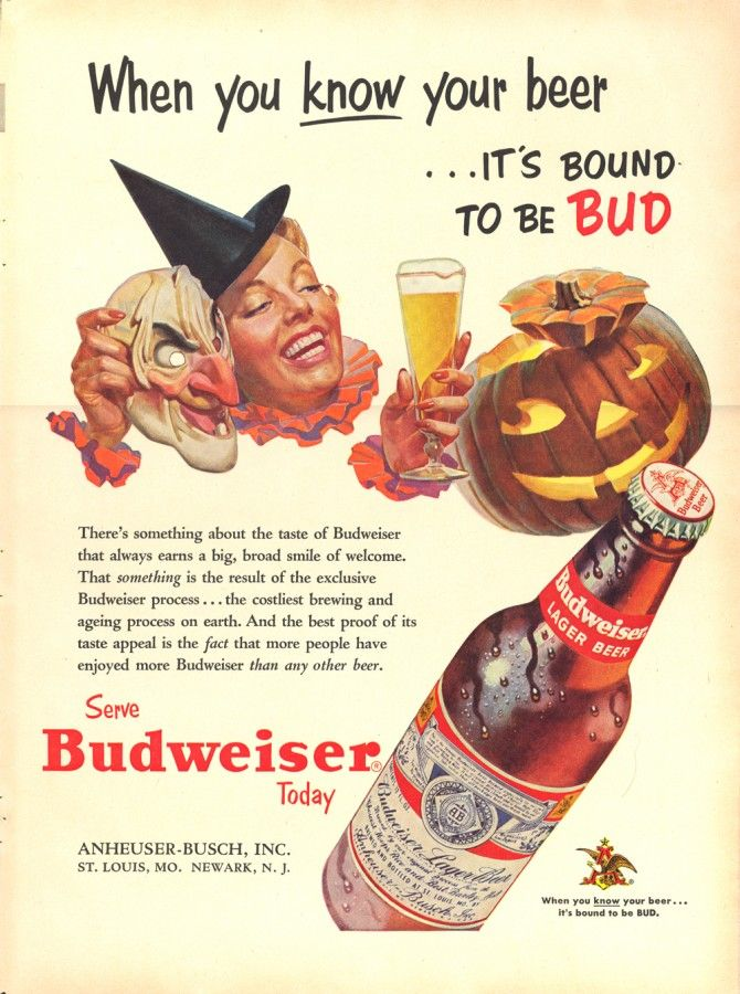 vintage_retro_halloween_ad_budweiser