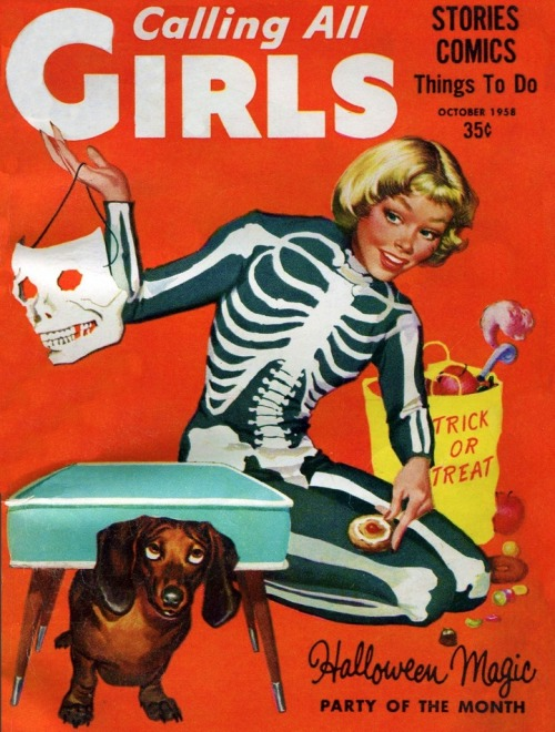 vintage_retro_halloween_ad_calling_all_girl