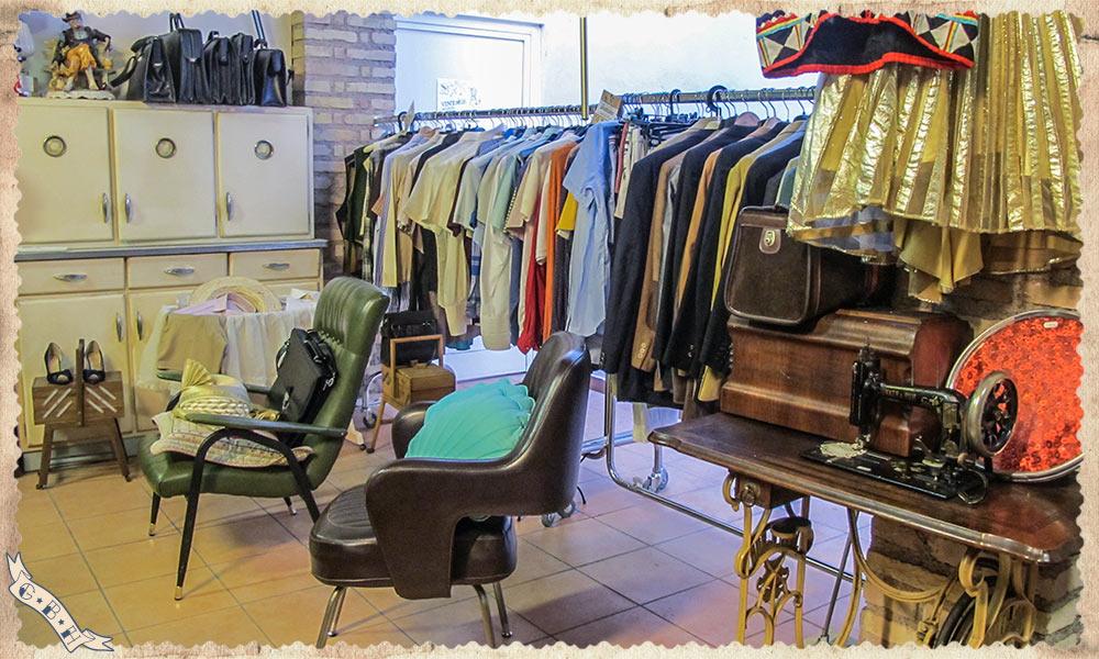 """LA CITTÁ ECO-SOLIDALE, CHARITY VINTAGE MARKET AND TAILOR SHOP IN ROME"""