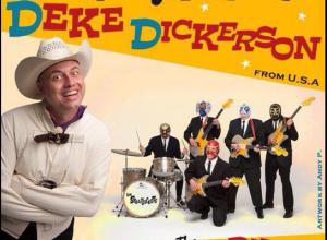 Deke Dickerson e Los Straitjackets in concerto a Roma